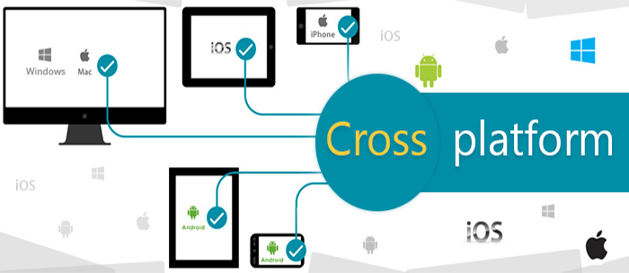 Cross platform mobile applications development for iOS and Android